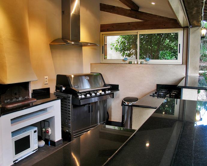 VVilla San Marco, Lorgues: Summer Kitchen